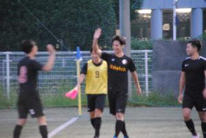 Hiroki Kobayashi scores against Eastern Capital FC