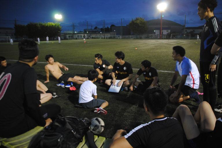 YeBoiz F.C. 試合後の反省会