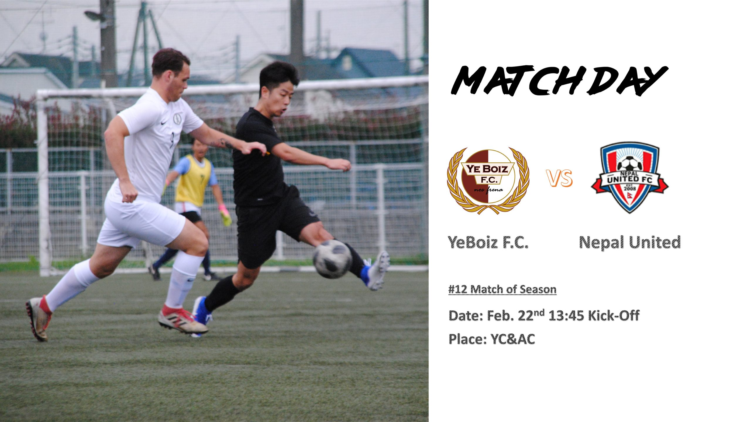 Match Day vs YC&AC